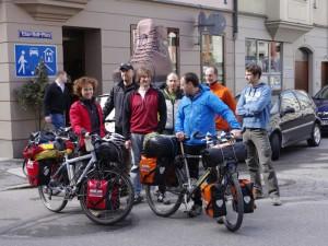 Annette, Christian und das Bergteam der Ultratour
